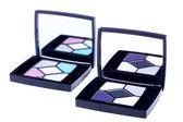 Lux eyeshadows with mirror — Stock Photo