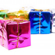 Stock Photo: New year boxes