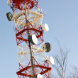 Communications Mast — Stock Photo