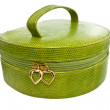 Royalty-Free Stock Photo: Green handbag