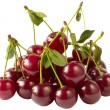 Cherry heap (path isolated) — Stock Photo