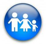 Family sign — Stock Photo