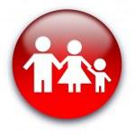 Aile işareti — Stok fotoğraf
