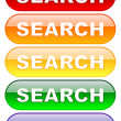 Search buttons set — Stock Photo #1045429