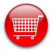 Shopping cart button — Stock Photo #1045437