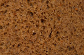 Rye bread texture — Stock Photo