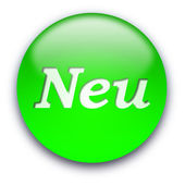 NEU button — Stock Photo