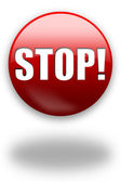 STOP! button / sign — Stock Photo