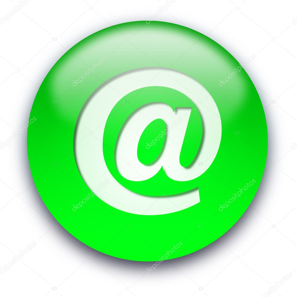 Email button — Stock Photo © grublee #1045445