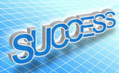 Success word — Stockfoto
