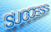 Success word — Stock Photo