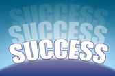 Horizon of success — Stock Photo