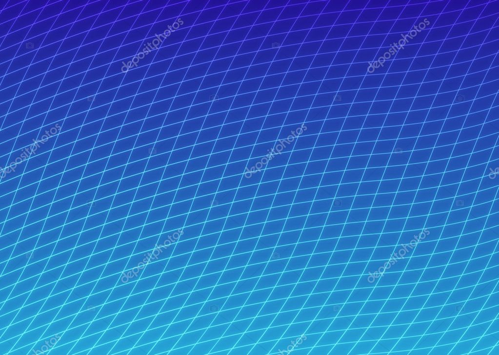 Curved lines grid gradient 2d abstract background — Stock fotografie #1050076