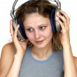 Royalty-Free Stock Photo: Listening the music