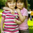 Foto de Stock  : Two girlfrends