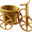 Basket - Tricycle (clipping path) — Stock Photo