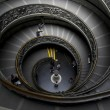 Spiral stairs in Vatican — Stock Photo