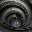 Spiral stairs in Vatican - Stock Photo