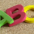 letras ABC — Foto Stock #1085449