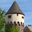 Old tower in Etlingen - Stock Photo