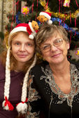 Mãe e filha, nhy — Foto Stock