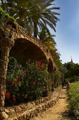 Guell park — Stock Photo