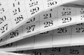 カレンダー — ストック写真