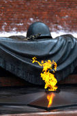 Unknown soldier memorial - Moscow — Stock Photo