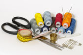 Sewing set — Stockfoto
