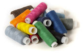 Sewing thread pile — Stock Photo