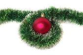 Noel dekorasyon top — Stok fotoğraf