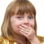 grappig meisje — Stockfoto