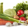 Common vegetables — Stock Photo