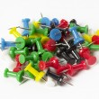 Push pin pile — Stock Photo