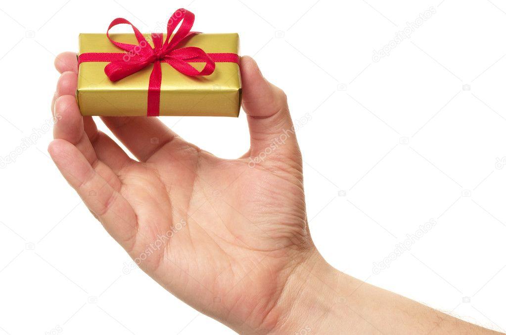 Как назвать человека которому дарят подарки