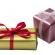 Two little present boxes — Stock Photo #1301999
