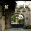 Riquewihr gate and house fragment - Photo