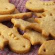 Christmas ginger butter cookies — Stock Photo #1519525