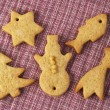 Christmas ginger butter cookies — Stock Photo #1519528