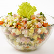 Royalty-Free Stock Photo: Russian salad