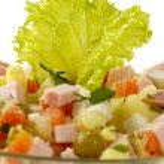 Russian salad — Stock Photo