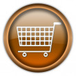 Shopping cart button — Stock Photo #2202071