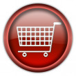 Shopping cart button — Stock Photo #2202126