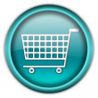 Shopping cart button — Stock Photo #2209019