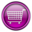 Shopping cart button — Stock Photo #2209034
