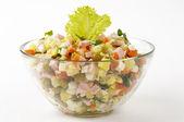 российский салат — Стоковое фото