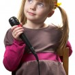 Little singer — Stock Photo #2422446