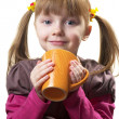 Funny little girl — Stock Photo #2532607