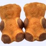 两个可爱的熊仔 — 图库照片 #1055132