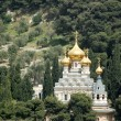 A russian orthoodox church in Jerusalem — Stock Photo #1058641